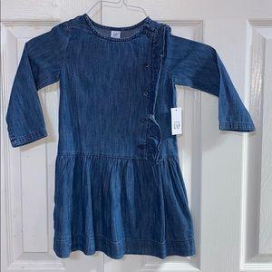 Baby gap soft Jean dress